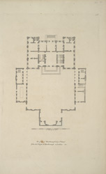 The plan of Marlborough House, St James's